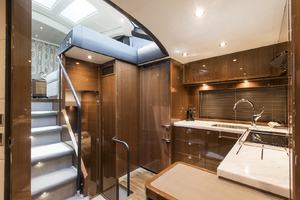62' Princess V62-S 2015 Galley view 3