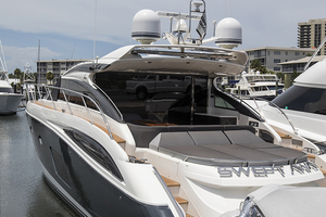 62' Princess V62-s 2015 Port quarter profile 2