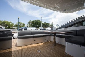 62' Princess V62-s 2015 Cockpit seating area