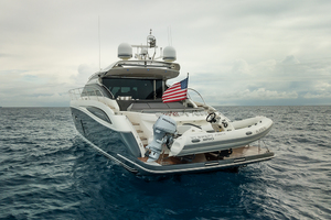 62' Princess V62-s 2015 Portquarterprofile