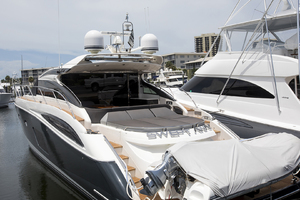 62' Princess V62-s 2015 Port quarter profile 3