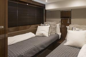 62' Princess V62-s 2015 Guest stateroom