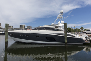 62' Princess V62-s 2015 Port profile 2