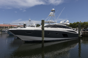 62' Princess V62-S 2015 Port profile 3