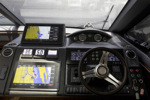 62' Princess V62-S 2015 Helm view 2
