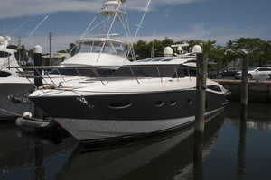 62' Princess V62-S 2015 Port bow profile 2