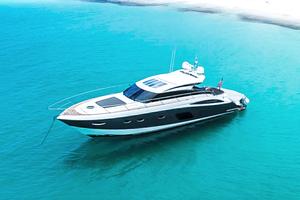 63' Princess V62-S 2015 Port profile
