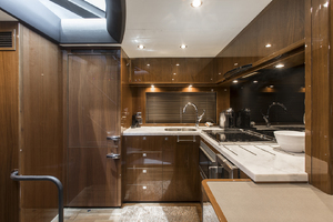 62' Princess V62-s 2015 Galley