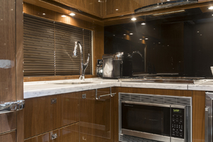 62' Princess V62-s 2015 Galley view 2