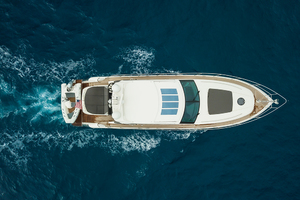 62' Princess V62-s 2015 Aerialview