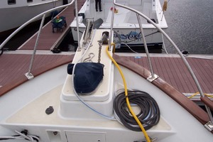 44' Island Gypsy Aft Cabin Motoryacht 1997 Ground Tackle