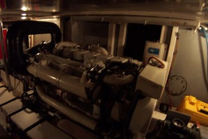 44' Island Gypsy Aft Cabin Motoryacht 1997 Port Engine