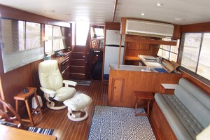Island-Gypsy-Aft-Cabin-Motoryacht-1997-PAINT-BY-NUMBER-Stuart-Florida-United-States-Saloon-Aft-1081705