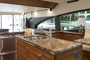 60' Hatteras 60 Motor Yacht 2013 Sink in the galley