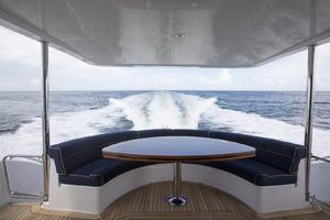 60' Hatteras 60 Motor Yacht 2013 Cockpit