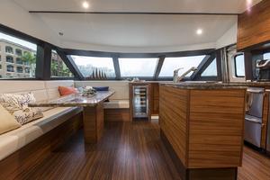 60' Hatteras 60 Motor Yacht 2013 Dinette view 2