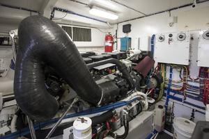 60' Hatteras 60 Motor Yacht 2013 Engine 2