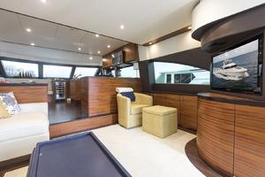 60' Hatteras 60 Motor Yacht 2013 Salon view 2