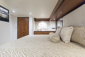 60' Hatteras 60 Motor Yacht 2013 Master stateroom view 2