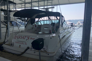 38' Sea Ray 380 Sundancer 2003 Stern profile