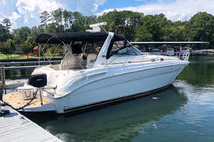 38' Sea Ray 380 Sundancer 2003 STBD profile 4