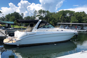 38' Sea Ray 380 Sundancer 2003 STBD profile