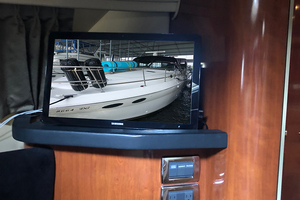 38' Sea Ray 380 Sundancer 2003 TV in the master stateroom