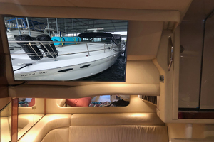 38' Sea Ray 380 Sundancer 2003 TV in the salon