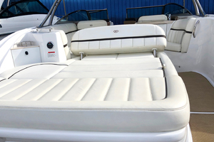 33' Cobalt 336 2014 Aft/transom seating area view 2
