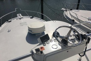 36' Luhrs 36 Open 2005 Foredeck from Tower