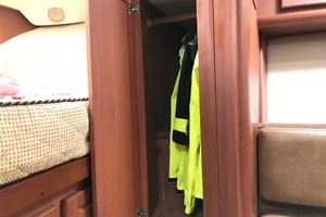 36' Luhrs 36 Open 2005 Cedarlined Hanging Locker