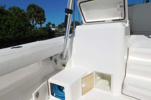36' Luhrs 36 Open 2005 Port Boarding Step