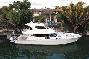 60' Maritimo M60 Convertible Sportfish 2007 Stbd Side