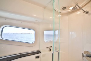 54' Meridian Sedan Bridge 2011 Master Shower
