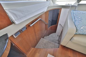54' Meridian Sedan Bridge 2011 Stairs to Stateroom