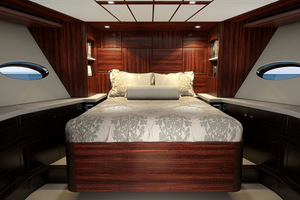 photo of Hatteras-M90-Panacera-2020--Cape-May-New-Jersey-United-States-Bow-Stateroom-1084094