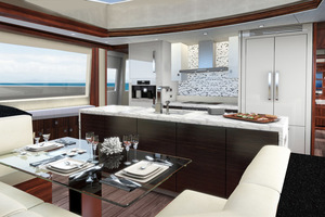 90' Hatteras M90 Panacera 2020 Galley
