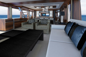 photo of Hatteras-M90-Panacera-2020--Cape-May-New-Jersey-United-States-Main-Deck-Interior-1084086