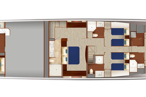 90' Hatteras M90 Panacera 2020 Layout Drawing