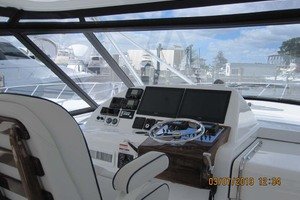 45' Hatteras 45 Express With Tower 2019 Helm