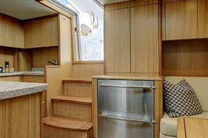 45' Hatteras 45 Express With Tower 2019 Salon Aft