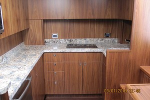 45' Hatteras 45 Express with Tower 2019 Galley