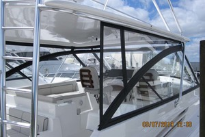 45' Hatteras 45 Express With Tower 2019 Enclosure