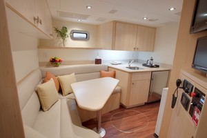 DREAM WEAVER is a Christensen 1990 Yacht For Sale in Fort Lauderdale-Galley 1-27