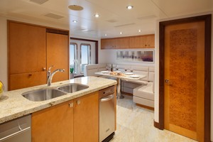 DREAM WEAVER is a Christensen 1990 Yacht For Sale in Fort Lauderdale-Galley Dinette-28