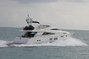 78' Fairline 78 Squadron 2009 Starboard Running