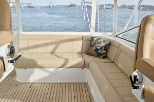 52' Viking 52 Open 2007 Helm Deck Accommodations