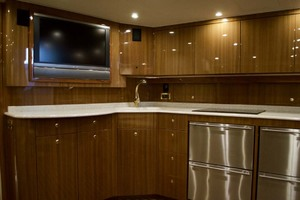 52' Viking 52 Open 2007 Galley