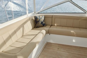 52' Viking 52 Open 2007 Helm Deck Settee