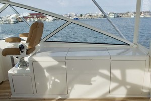 52' Viking 52 Open 2007 Starboard Helm Deck